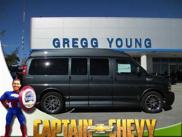 2019 Explorer Van CHEVROLET EXPRESS Explorer Van